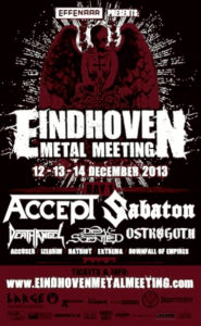 ACCEPT December 12th Eindhoven, Netherlands