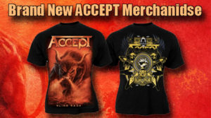 Official ACCEPT Merchandise
