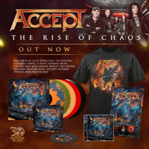 ACCEPT The Rise Of Chaos Out Now
