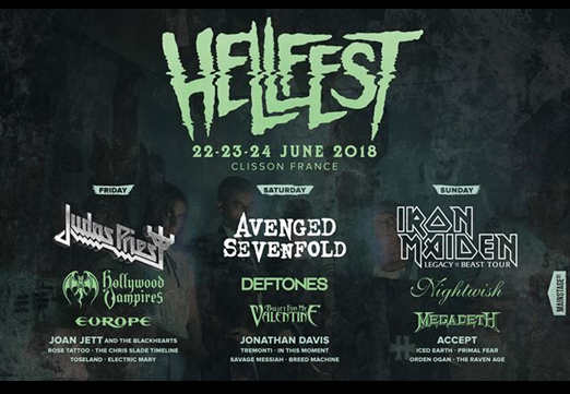 Hellfest 2018 Accept Worldwide Official Website