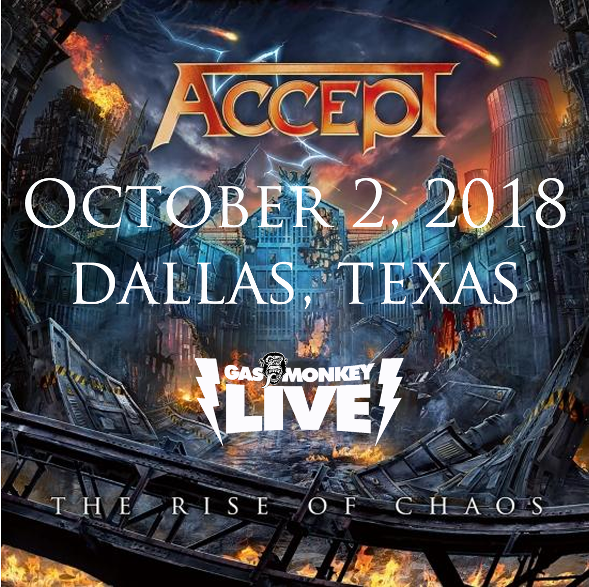 Dallas Show Announced – ACCEPT Worldwide Official Website